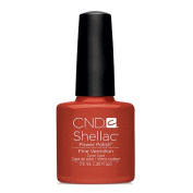 CND Shellac Power Polish - Modern Folklore Collection  Fall 2014 - Fine Vermilion