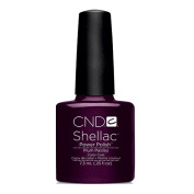 CND Shellac Power Polish - Modern Folklore Collection  Fall 2014 - Plum Paisley - 0.25oz / 7.3ml