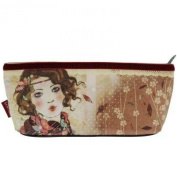 Santoro Eclectic - Willow Accessory Case/Pencil case - Souvenir d'Hiver