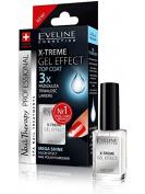 Eveline X-treme Gel Effect Top Coat Nail Polish Hardener Mega Shine