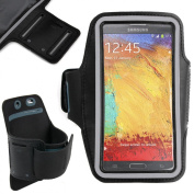 DURAGADGET Exclusive Unisex Sports Armband in Purple - Running, Cycling & Gym Smartphone Case / Cover / Holder - Custom-Designed for the for for for for for for for for for for Samsung Galaxy Note II & for for for for for for fo