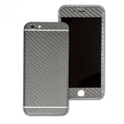 3D Textured CARBON Fibre Skin Wrap Sticker Decal Cover Protector for Apple iPhone 6 12cm