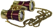 Levenhuk Broadway 325F Opera Glasses (red with LED light and chain) 3x with accessory kit