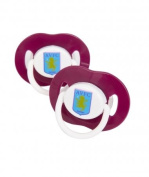 Aston Villa Soothers - Pack of 2
