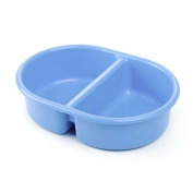 The Neat Nursery Company Oval Top N Tail Bowl BLUE