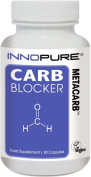 CARB Blocker METACARB | High Strength Formulation with White Kidney Bean Extract | 90 Capsules | Innopure®