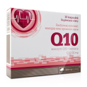 Olimp Q10 N30 Contains 30 Mg of Coenzyme Q10 and 20 Mg of Lecithin