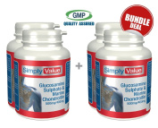 Glucosamine 500mg with Chondroitin 400mg Bundle Deal 240 Capsules
