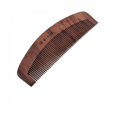 Portable Rosewood Hair Care Sandal Wood Comb 15cm Long