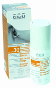 Eco Cosmetics Facial Sun 30ml Gel SPF 30 transparent sunprotection - mineral-plant sunscreen