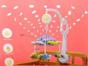 Projection Mobile - Mobile with Projector and Music Box - Baby Projection Mobile - Baby Mobile - Cot Mobile - Musical Mobile - Night Musical Projection Mobile - Mobile with Plush Animals