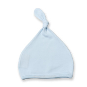 Larkwood Baby Unisex Top Knotted Hat (One Size)