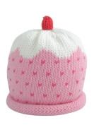 Merry Berries Pink Cupcake Baby Hat