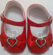 Baby Girls Red Shoes for that special Occasion