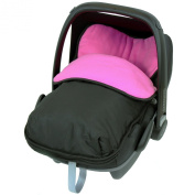 iSafe Buddy Jet Carseat Footmuff - Raspberry