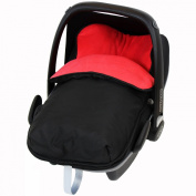iSafe Buddy Jet Carseat Footmuff - Warm Red