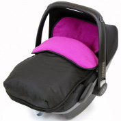 iSafe Buddy Jet Carseat Footmuff - Plum