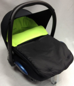 Universal Car Seat Footmuff To Fit Maxi Cosi Cabrio Lime
