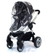 iCandy Apple, Cherry, Pear, Peach Raincover Professional Heavy Duty Rain Cover (Stokke) Universal Fit