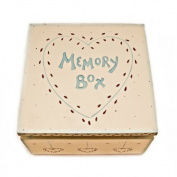 East of India Keepsake Memory Box - Baby / Memories / Bereavement / Family