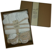 Baby Mio Precious Collection 100 Percent Organic Cotton Bed Time Gift Set