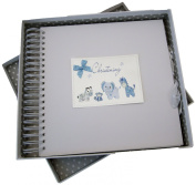 White Cotton Cards Christening Cards And Memory Book