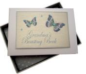 White Cotton Cards Grandma's Boasting Book Tiny Photo Album
