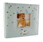 Baby Boy Stars Photo Album Gift 200cm x 15cm x 10cm