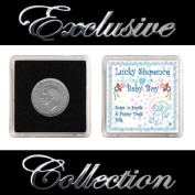 LUCKY SIXPENCE GIFT FOR NEW BABY BOY