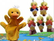 Homgaty Five Little Ducks Animals Hand Finger Puppets Story Telling Nursery Fairy Tale The Perfect Birthday, Christmas Gift