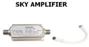 Sky Sky+ Sky Hd Satellite Amplifier Booster + 15Cm Lead Cable