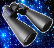 15x70 Very High Quality Astronomy Blue Body Observation Binoculars - BaK4 Prisms- Exceptional Clarity - Recommended for StarGazing - Very Powerful - With Tripod Adapter, Case, Lens Caps, Cleaning Cloth and Strap