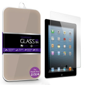 """G4GADGET® Ipad 2/1.9cm Anti-Explosion"""" Tempered Glass Crystal Clear Screen Protector for Ipad 2/3/4"""