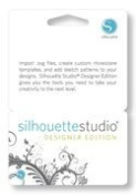 Silhouette Software Upgrade to Silhouette Studio Designer Edition Licence Key Card