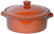 Amazing Cookware Natural Terracotta 2 Litre Casserole Dish