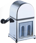 VonShef Manual Ice Crusher Machine with . Mirrored Finish - Includes an Ice Tray and FREE Scoop
