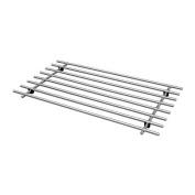 IKEA LAMPLIG - Trivet, stainless steel - 50x28 cm