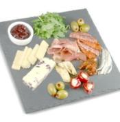 Utopia Mineral Collection Square Slate Platter 28cm | Slate Presentation Platter