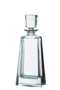 Bohemia Large 24 Percent Lead Crystal Boston Decanter, Transparent