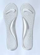 Ladies Gel Insoles With Arch Support and Hammer Toe Crest Cushion. Party Feet