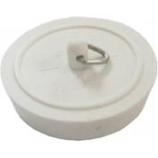 1 x 44 mm WHITE SINk & BATH PLUG