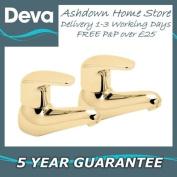 Deva ADORE101/G Adore Gold Basin Taps