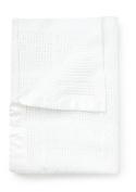 Pixie & Jack Pram Brushed Cotton Cellular Blanket, Satin edge