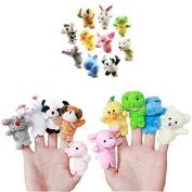 Animal Finger Puppets -10Pcs