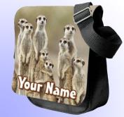 Meerkats Personalised Shoulder / Hand Bag