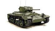Armourfast 1/72 British Valentine MkII Tank Kit - Contains 2 Tanks