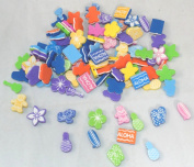 100 Fabulous Foam Luau Bead Assortment