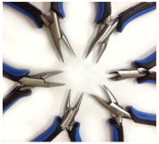 ToolUSA Jeweller's Complete 6-Piece Precision Plier Set