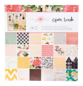 Crate Paper Maggie Holmes Open Book Patterned Paper Pad, 30cm by 30cm