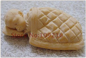 Creativemoldstore 1pcs Sleeping Baby(ZX0113) Craft Art Silicone Soap Mould Craft Moulds DIY Handmade Soap Moulds